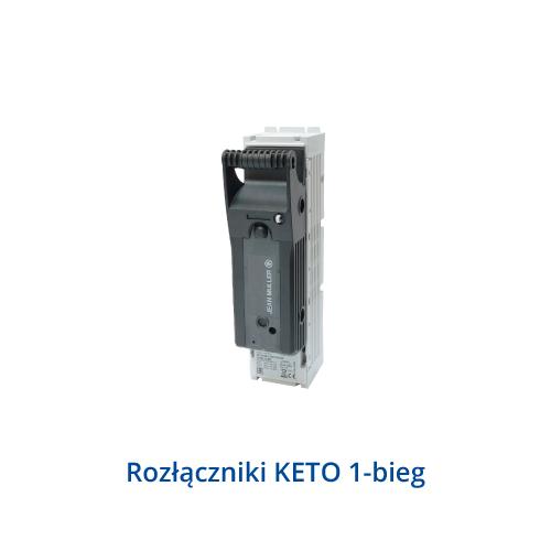 Rozłączniki KETO 1-bieg.