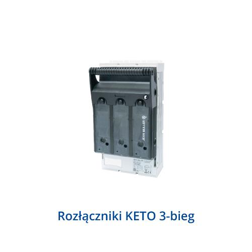 Rozłączniki KETO 3-bieg.