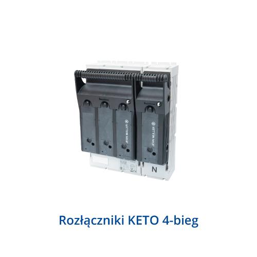 Rozłączniki KETO 4-bieg.