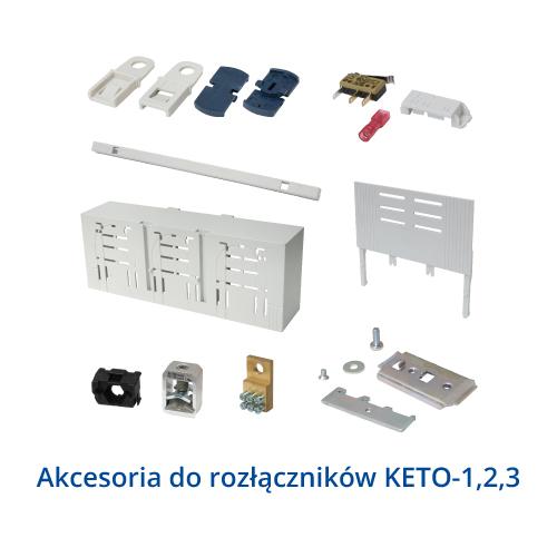Akcesoria do rozłączników KETO1-3