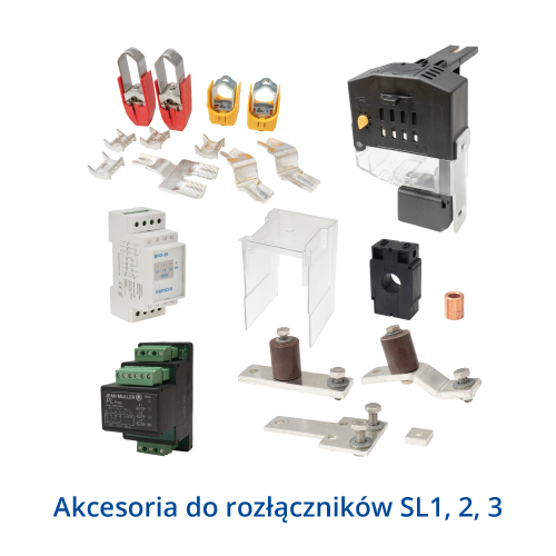 Akcesoria do rozłączników SL123