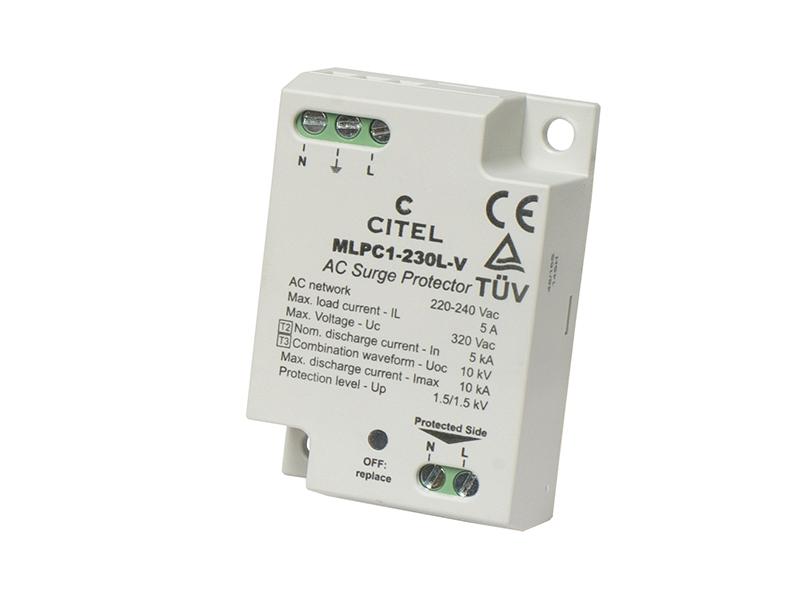23Ogranicznik przepięć do ochrony LED typ 2+3MLPC1-230L-V – C831221