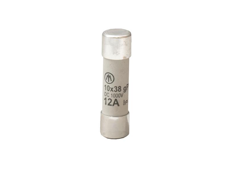 27Wkładka topikowa cylindryczna 10×38 1000V DC gPVZ10DC12/1000V – D7641900