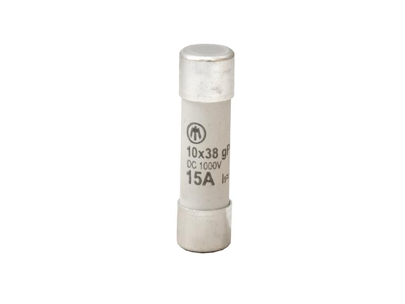 29Wkładka topikowa cylindryczna 10×38 1000V DC gPVZ10DC15/1000V – D7642100