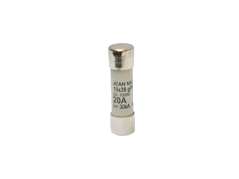31Wkładka topikowa cylindryczna 10×38 1000V DC gPVZ10DC20/1000V – D7642400