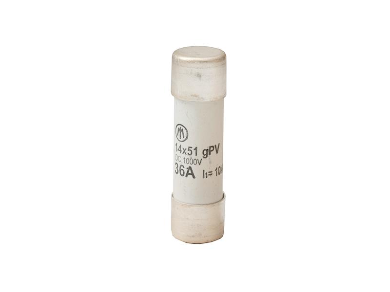 22Wkładka topikowa cylindryczna 14×51 1000V DC gPVZ14gPV36/1000V – D7643110