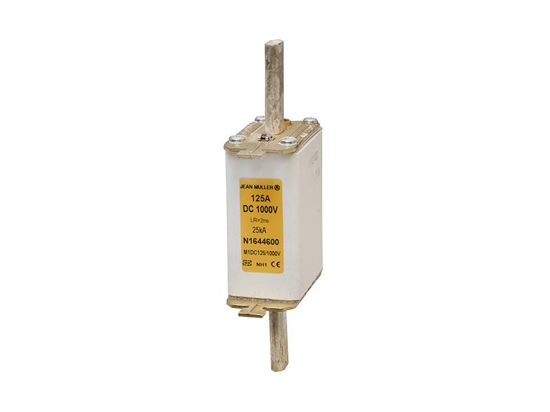 27Wkładka topikowa 1000V DC NH1c ze wskaźnikiem górnymM1DC125/1000V – N1644600