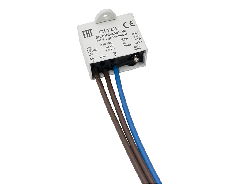 23Ogranicznik przepięćMLPX2-230L-W IP67 – C711217