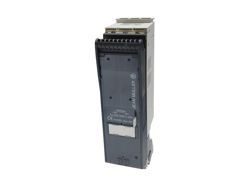 22Rozłącznik bezpiecznikowy skrzynkowy KETO na szynę o rozstawie 60mmKETO-000-3/60/AU/F50 – T601956002
