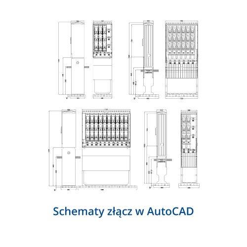 Rozłącznik skrzynkowe KETO do montażu na płytach