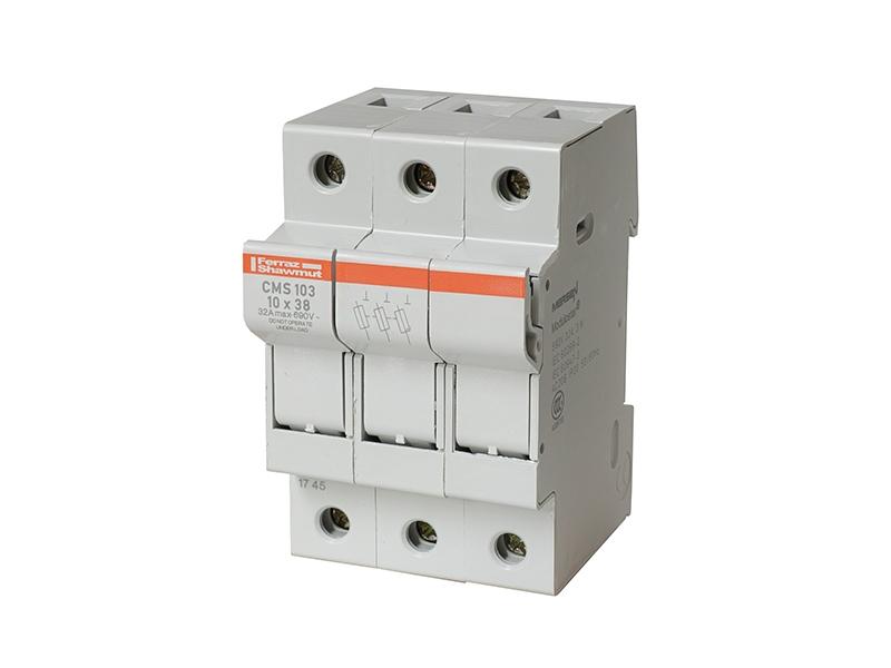 33Podstawa do wkładek cylindrycznych 10×38CMS103 – FX305023D