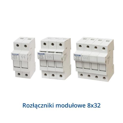 Rozłączniki listwowe typu SL wielkość 00