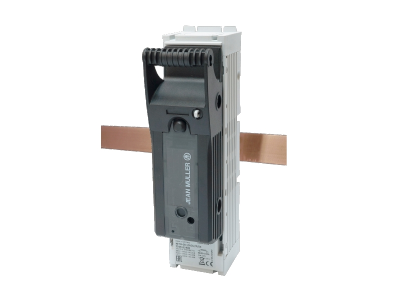 26Rozłącznik bezpiecznikowy skrzynkowy KETO na szynę o rozstawie 60mmKETO-1-1/AOU/F/SK – T103115402