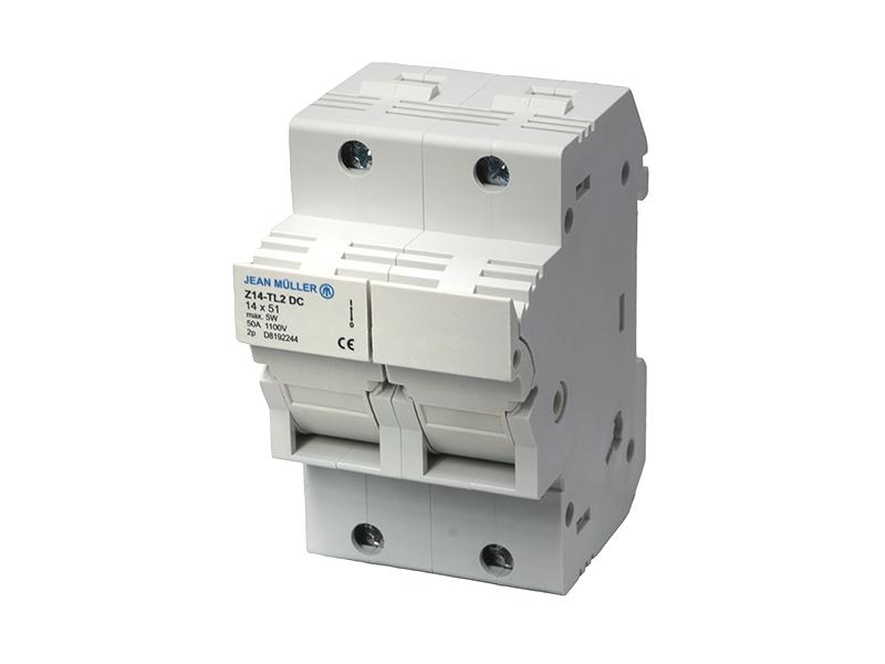 22Podstawa rozłączalna 2-polowa Z14-TL1Z14-TL2/DC1100V – D8192244