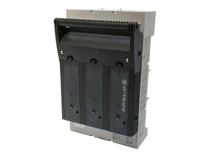 25Rozłącznik bezpiecznikowy skrzynkowy KETO na szynę o rozstawie 60mmKETO-1-3/60/AOU/F/HT – T101116002