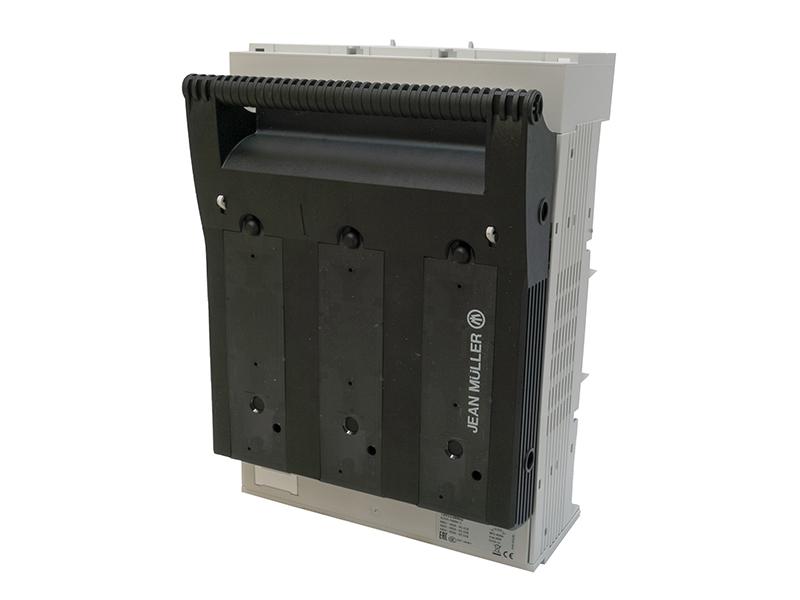 26Rozłącznik bezpiecznikowy skrzynkowy KETO na szynę o rozstawie 60mmKETO-2-3/60/AOU/F/HT – T201116002