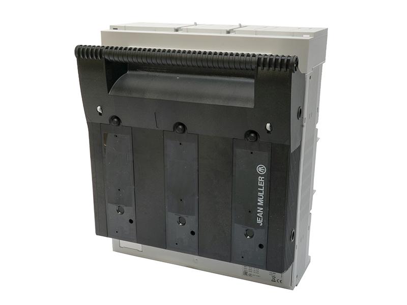 27Rozłącznik bezpiecznikowy skrzynkowy KETO na szynę o rozstawie 60mmKETO-3-3/60/AOU/F/HT – T301116002