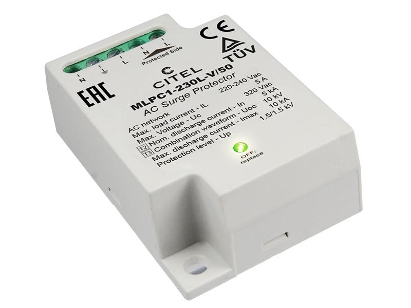 24Ogranicznik przepięć do ochrony LED typ 2+3MLPC1-230L-V/50 – C831222